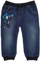 Dolce & Gabbana Denim Effect Chambray Pants