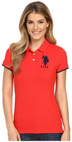 U.S. Polo Assn. Contrast Patch Big Pony Polo