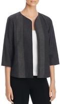 Eileen Fisher Petites Dot Knit Open Front Jacket