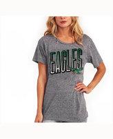 Junk Food Clothing Women's Philadelphia Eagles Big Draw T-Shirt