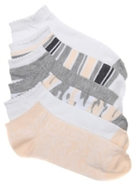 Jessica Simpson Paisley Womens No Show Socks - 6 Pack