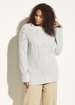 Thumbnail for your product : Vince Textured Cable Tunic