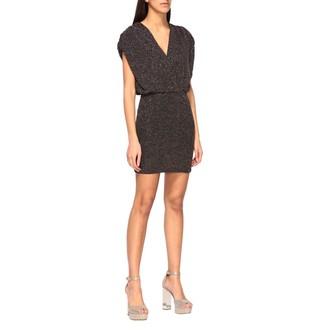 Just Cavalli Dress In Lurex Knit