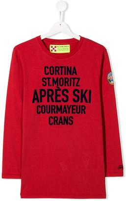 MC2 Saint Barth Kids St Moritz print top
