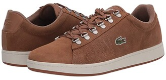 Lacoste Carnaby Evo 319 3 (Light Brown/Off-White) Men's Shoes