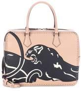 Valentino Stud Stitching leather shoulder bag