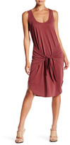 Socialite Sleeveless Tie Front Dress