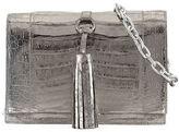 Nancy Gonzalez Small Tassel Crocodile Crossbody Bag