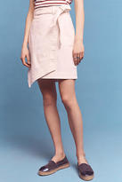 Pilcro Asymmetrical Chino Skirt