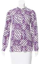 Rebecca Minkoff Printed Long Sleeve Top