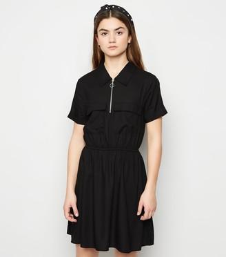New Look Girls Utility Shirt Dress