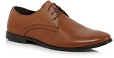 Red Herring Tan Leather Lace Up Derby Shoes