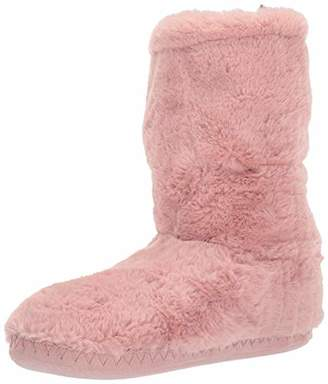 Joules Women's Homestead Luxe Hi-Top Slippers, Pink (Soft Pink Softpink), (36/37 EU)