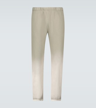 LES TIEN Cotton jersey trackpants