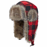 Woolrich Plaid Trapper Hat