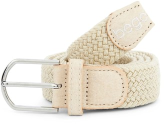 Bego Vegan Label Belt Natural - Stretch