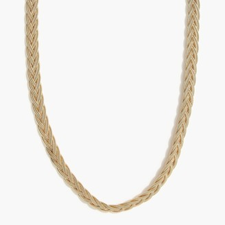 J.Crew Mesh chain necklace