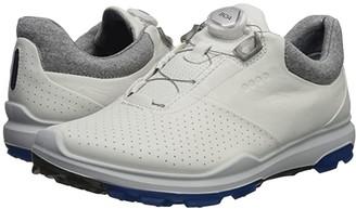 Ecco Biom Hybrid 3 Boa (White/Dynasty) Men's Golf Shoes