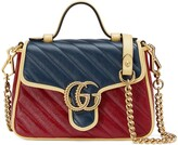 Thumbnail for your product : Gucci GG Marmont mini top handle bag