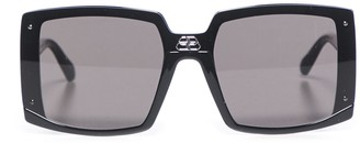 Balenciaga Eyewear Shield Square Sunglasses
