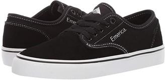 Emerica Wino Standard (Black/White/White) Men's Skate Shoes