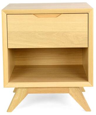 Calibre Furniture Aldo 1 Drawer Bedside Table