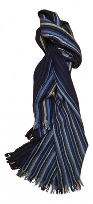 Tod's Blue Cashmere Scarves & pocket squares