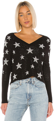 Chaser Star Intarsia V Neck Pullover