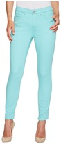 Tribal Five-Pocket Ankle Knit Denim 28 Jeggings in Light Aqua Women's Jeans