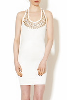 Wow Couture White Jeweled Dress