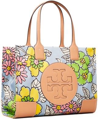 Tory Burch Ella Printed Mini Tote Bag