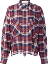 Faith Connexion oversized flannel shirt