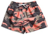 98 Coast Av Boys' Camouflage Swim Trunks - Sizes XS-L