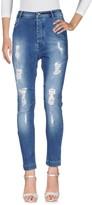 Patrizia Pepe Denim pants - Item 42623646