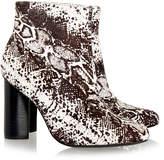 Senso Sadie Ice Pony Animal Print Ankle Boot