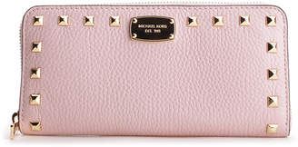 Michael Kors Women's Wallets BLOSSOM - Blossom Studded Jet Set Leather Wallet
