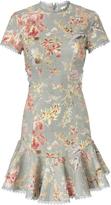 Zimmermann Mercer Flutter Floral Dress
