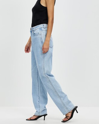Neuw Women's Blue Wide leg - Sade Baggy Jeans - Size 30 at The Iconic