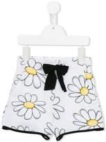 MonnaLisa daisy print shorts