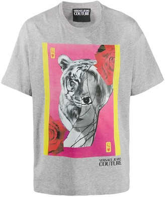 Versace collage print T-shirt