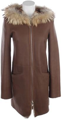 Ventcouvert Brown Coat for Women