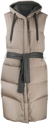 Brunello Cucinelli Quilted Hooded Vest
