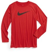 Nike 'Legend' Lightweight T-Shirt (Little Boys & Big Boys)