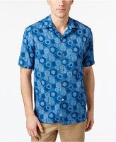 Tommy Bahama Men's 100% Silk Tiles Davis Shirt