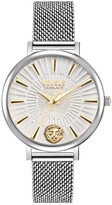 Thumbnail for your product : Versus By Versace Versus Women's Mar Vista Silver-Tone Stainless Steel Mesh Watch 34mm
