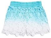 Design History Girls' Ombre Crochet Shorts - Little Kid