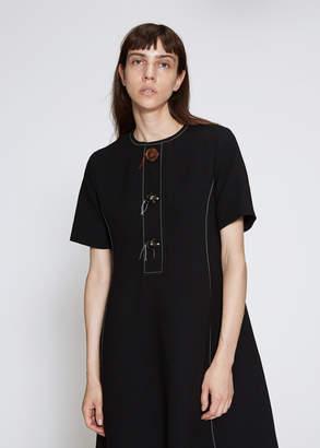Marni Short Sleeve Button Dress