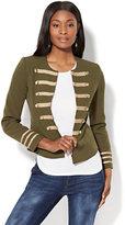 New York & Co. Military-Style Jacket - Olive