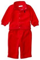 Ralph Lauren Infant Boys' Velour Jacket & Pants Set - Sizes 3-24 Months