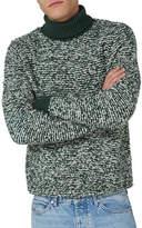 Topman LTD Classic Fit Turtleneck Sweater